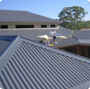Colorbond and Zincalume Roofing Installation